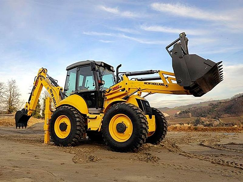 Buldoexcavator NEW HOLLAND B 115 C dealer